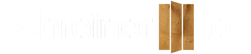 Logo Schreiner Joe in Weiß